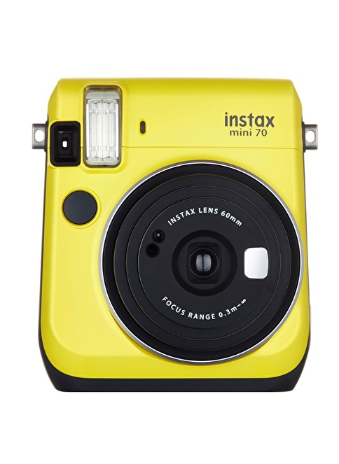 Fujifilm Instax Mini 70 Fotoğraf Makinesi Sarı
